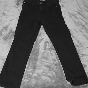 COPY - Nwot boys black biker Jean's size 16 distr…